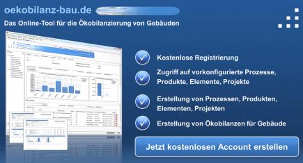 Oekobilanz Software DGNB Gebaeude web