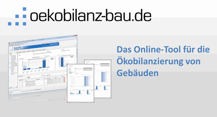 oekobilanz-bau.de - Die Online-Software für Ökobilanzierung von Gebäuden